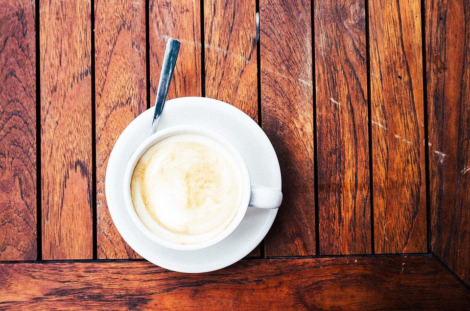 free photo: coffee, latte, cappuccino, wood - free image on