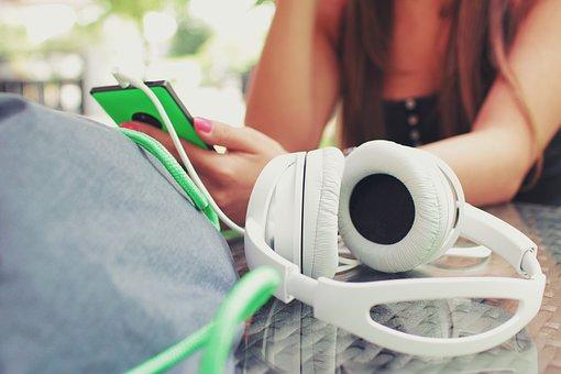 Fones De Ouvido, Músicas, Áudio