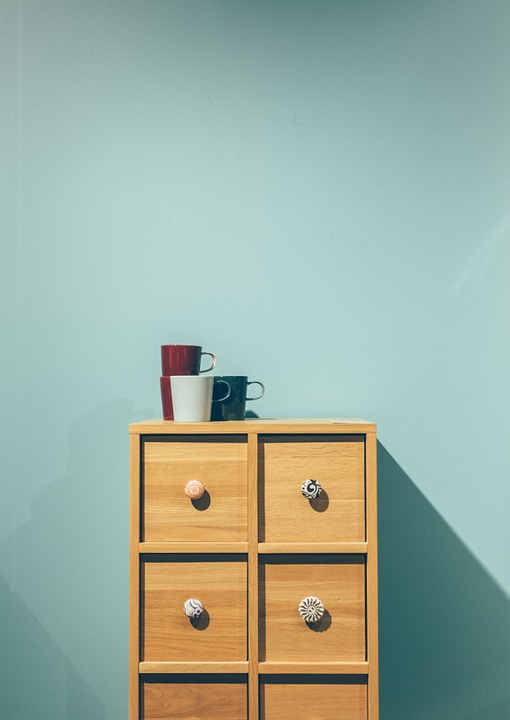 Minimal, Furniture, Drawers, Cup, Interior, Design