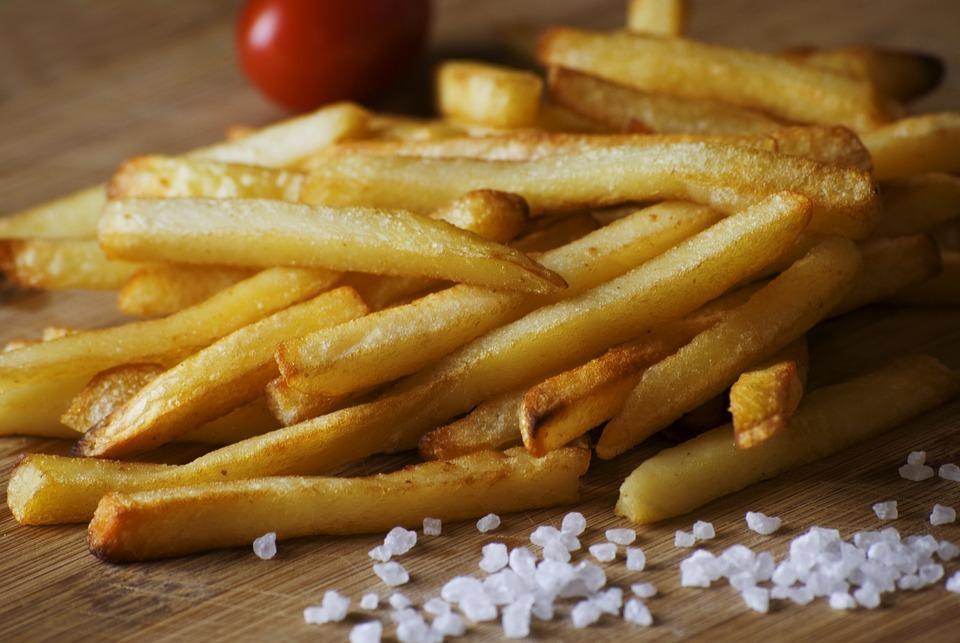 Pommes Frites, Salz, Lebensmittel