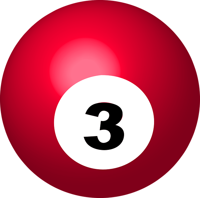 Pool Ball Number 3 Sphere  U00b7 Free Vector Graphic On Pixabay