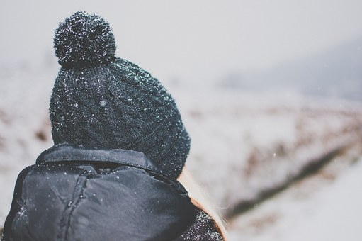 Girl, Hat, Toque, Beanie, Winter, Snow