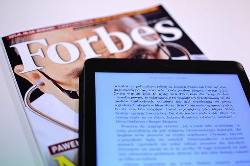 Forbes, Revista, La Lectura, Negocio