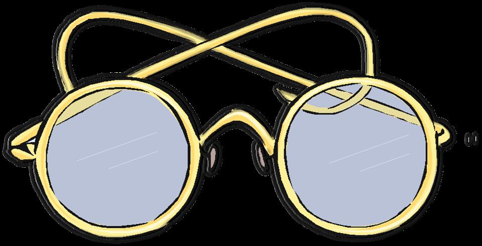 gammeldags briller