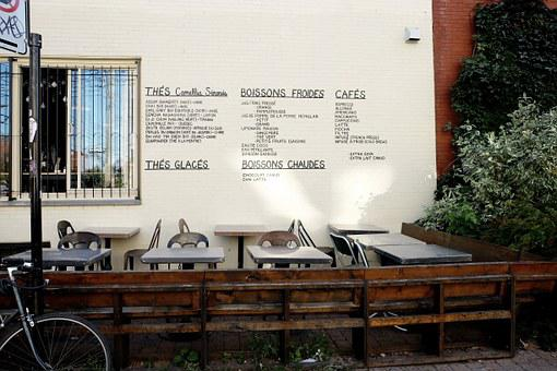 French, Restaurant, Terrace, Cafe, Menu