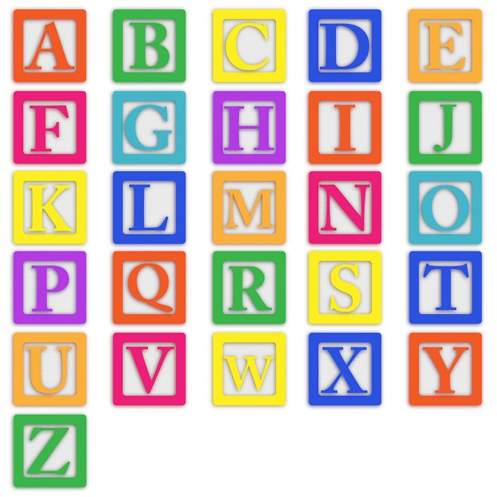 baby blocks alphabet abc letters