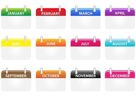 Calendar Icons Calendar Icons Month M