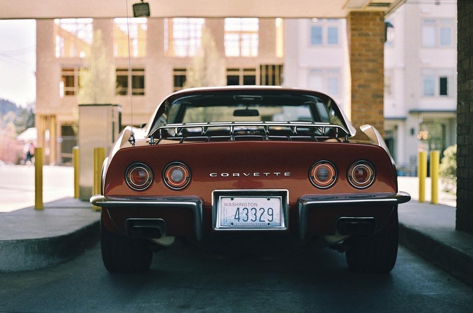 Corvette, Auto, Automotive, Ročník, Oldschool