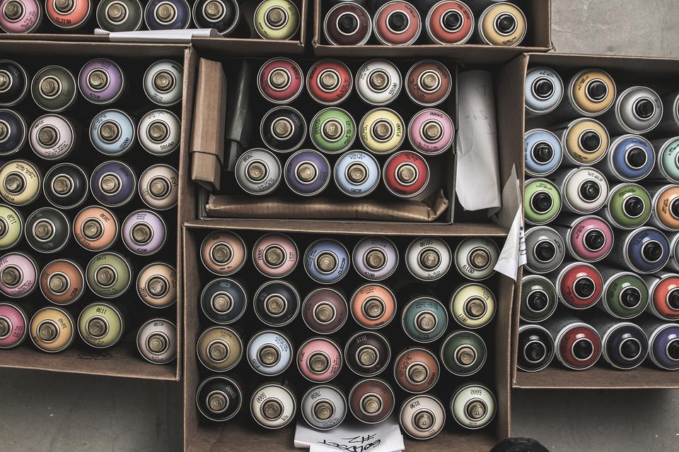 Free Photo Graffiti Cans Spray Paint Free Image On