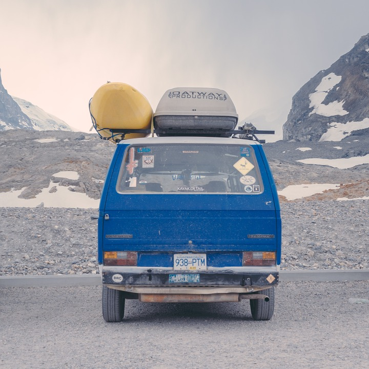 Road Trip, Van, Travel, Transportation, Roof Rack