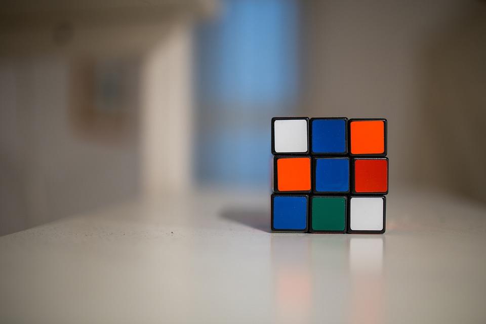 Rubiks Cube, Game, Fun, Entertainment, Colors, Colours