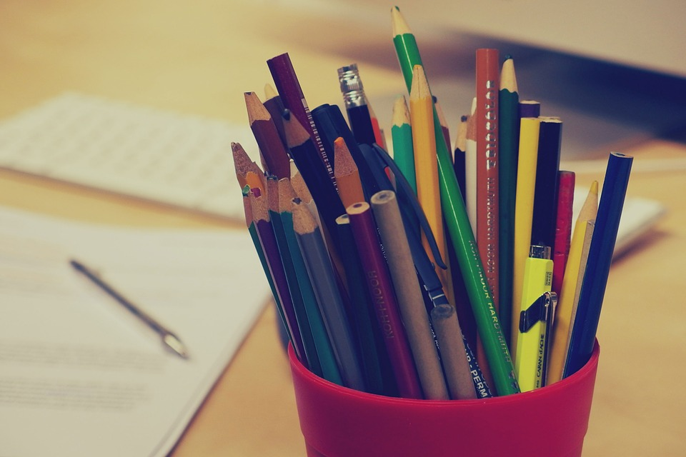 Free Photo Pencils Pens Stationary Office Free Image