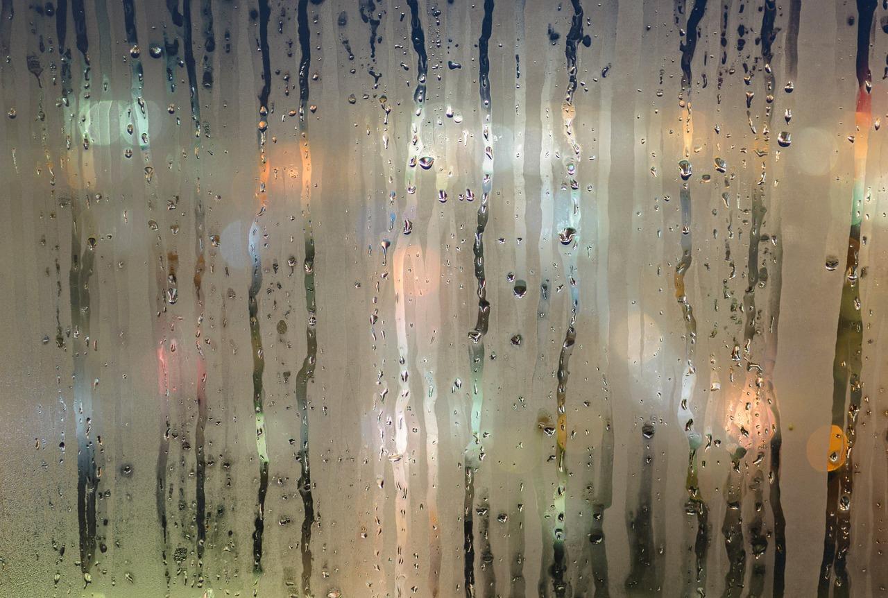 Как сделать с эффектом дождя