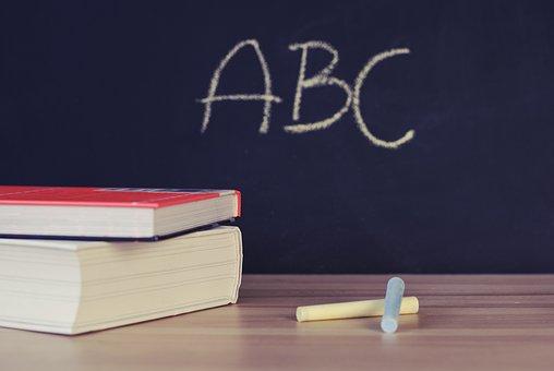 La Escuela, Los Libros, Escritorio