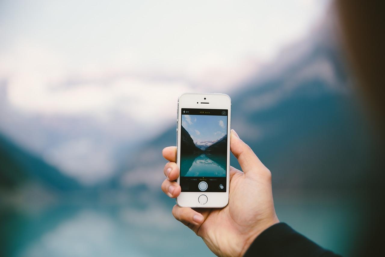 фотомонтаж на айфон флористика