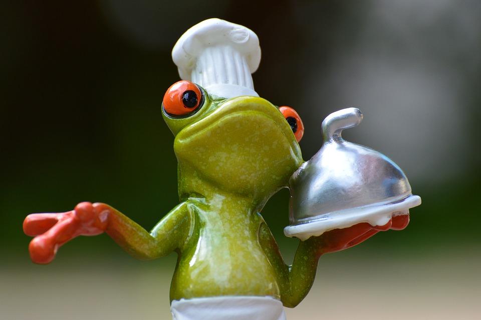 Sapo, Cozinha, Comer, Gourmet, Alimentos, Preparação