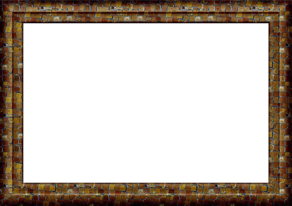 Free Illustration Frame Picture Frame Outline Free