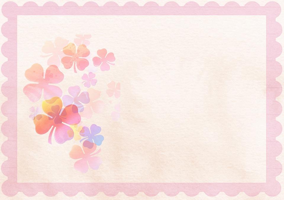 Pink Background Flower 183 Free Image On Pixabay