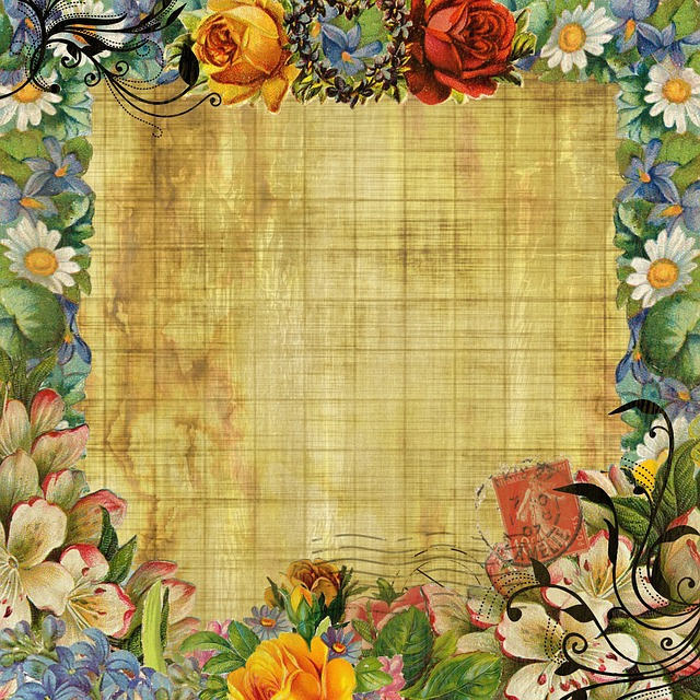 Vintage Background Flower · Free Image On Pixabay
