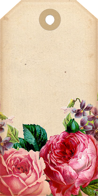 Free Illustration Tags Decorative Scrapbook Roses