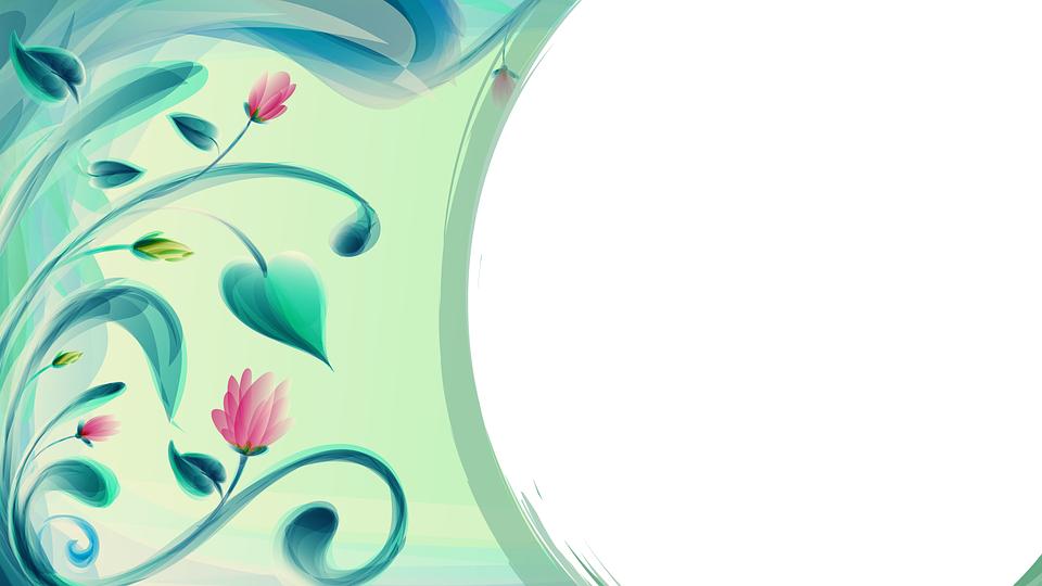Right Curve Background Flower Free Image On Pixabay