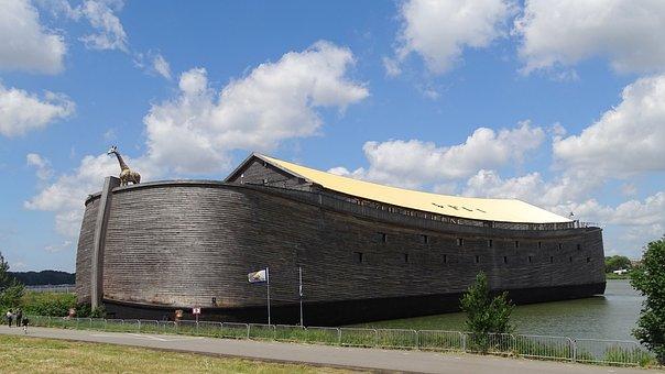 Netherlands, Dordrecht, Ark, Clouds, Ark