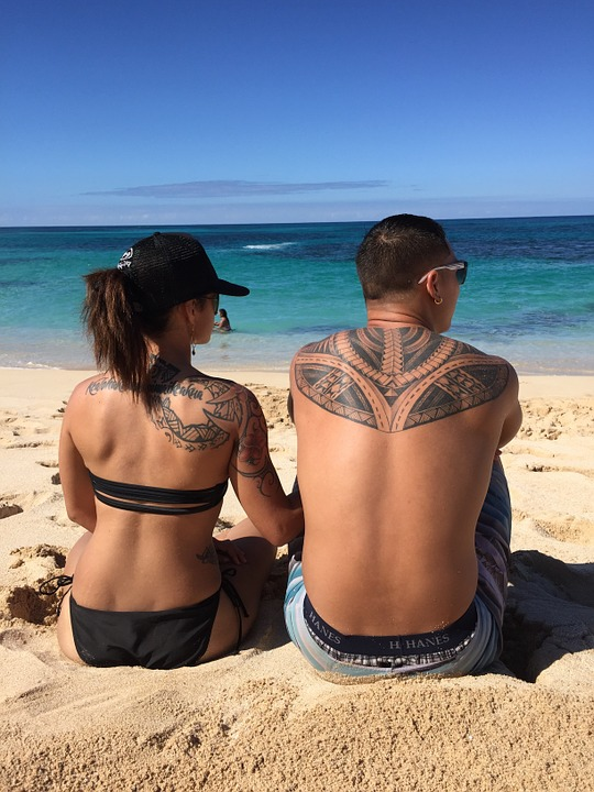 Playa El Amor Tatuajes Foto Gratis En Pixabay