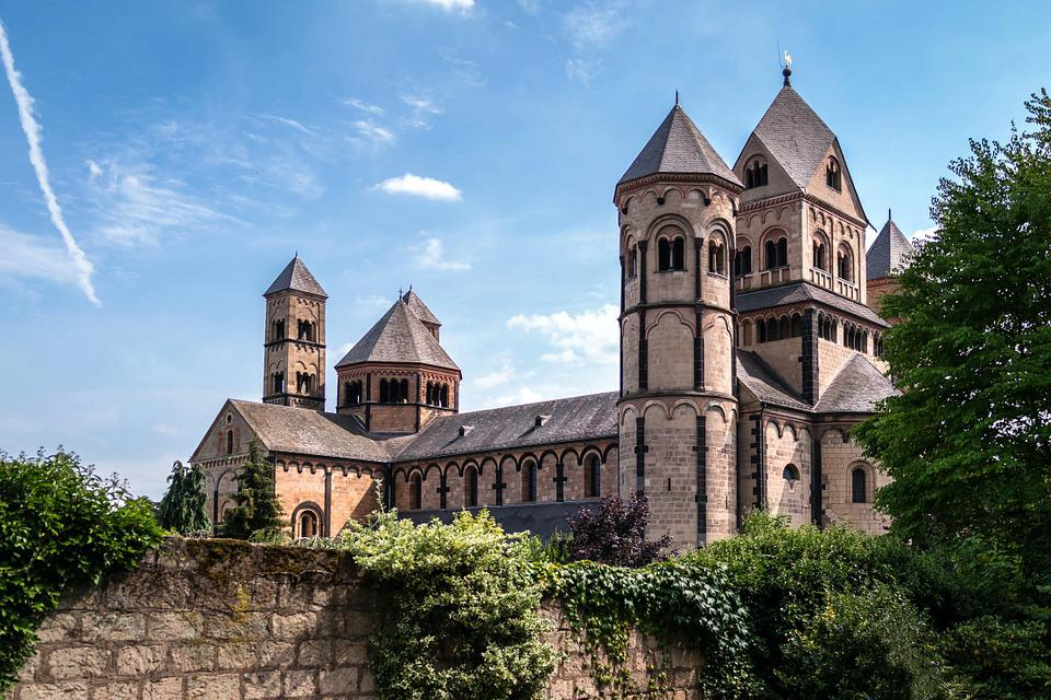 Monastery, Church, Benedictine, Maria Laach, Abbey