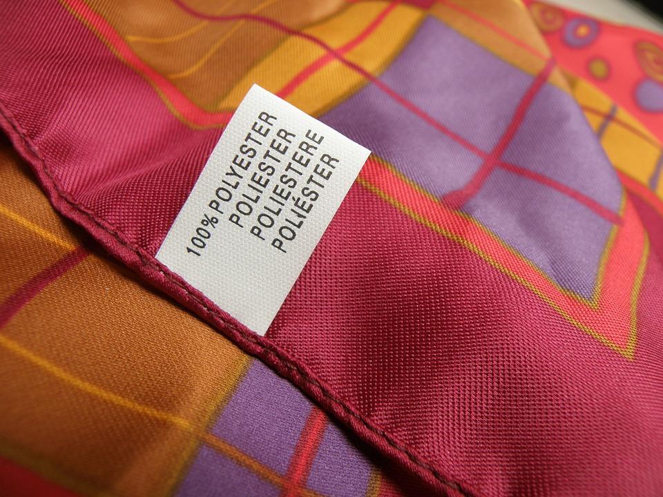 ผ้าพันคอ, โพลีเอสเตอร์, ตั๋ว, เสื้อผ้า