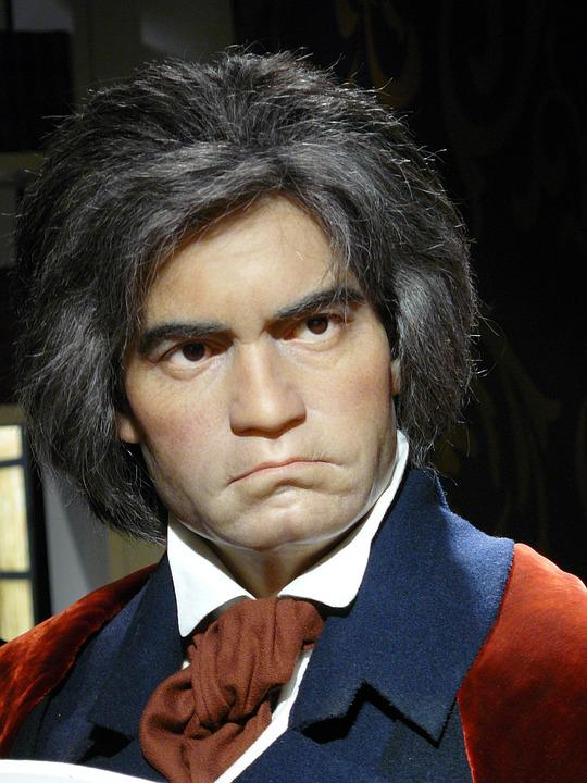 ludwig van beethoven wax museum  photo  pixabay