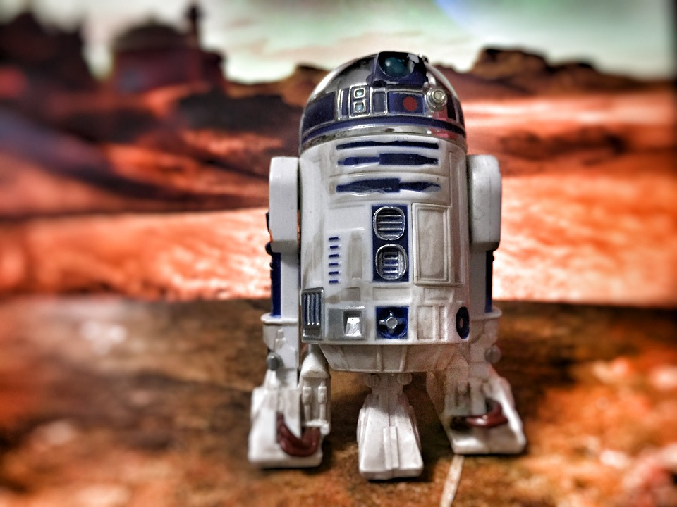 Photo gratuite jouet robot star wars objet image - Robot blanc star wars ...