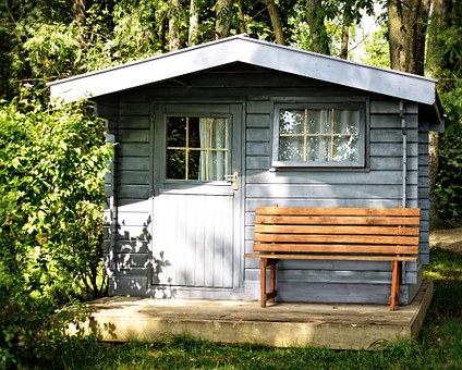 Garden Shed Log Cabin Garden Hut Leisure R