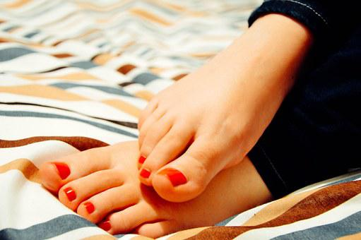 Feet, Toes, Woman, Female, Pedicure