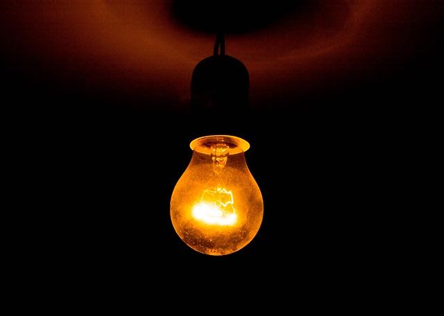 Free Photo Light Bulb Lighting Hanging Free Image On