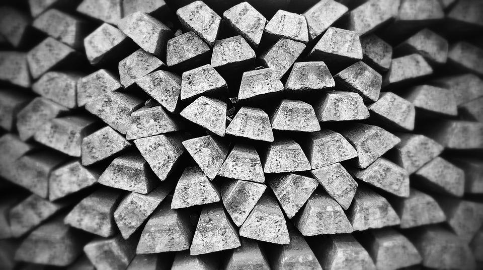 Bullion, Silver, Bars, Silver Bars, Metal, Old, Gray