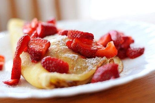 Erdbeerpfannkuchen