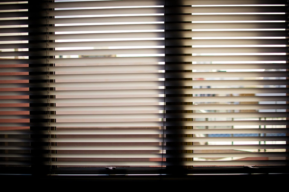 Window Blinds Office Office Window Horizontal