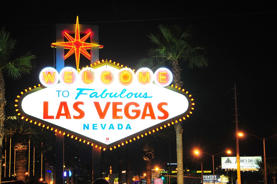 Nevada, Las Vegas, Las Vegas Sign, City, Neon, night
