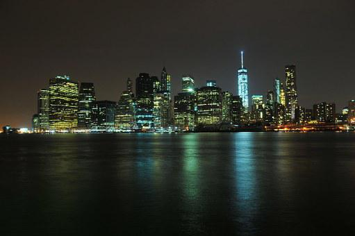 New York, Skyline, Manhattan