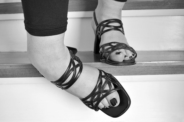 Free Photo Stairs Feet Accident Woman Free Image On