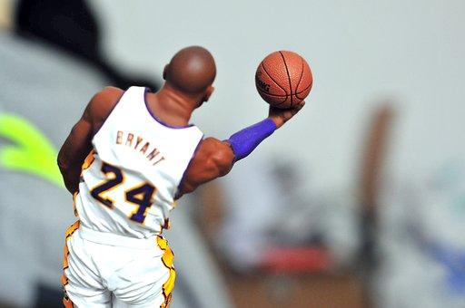 Kobe Bryant, Action Figure, Basketball