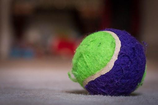 Ball, Tennis, Colorful, Macro, Felt