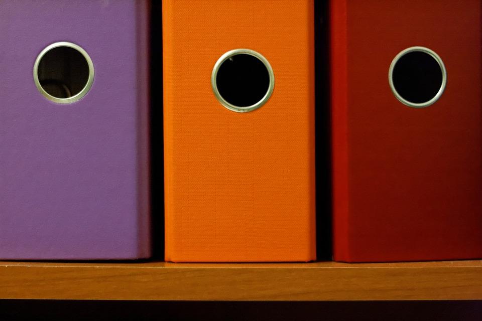 office binders colorful  u00b7 free photo on pixabay