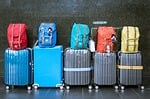 luggage, suitcases, baggage