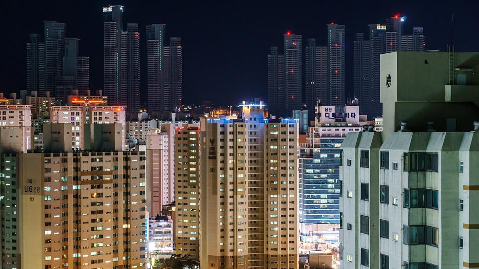 Apartment Block, Apartment Buildings, Metropolis