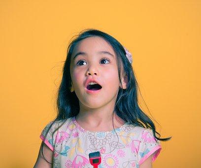 Girl, Child, Female, Talking, Singing