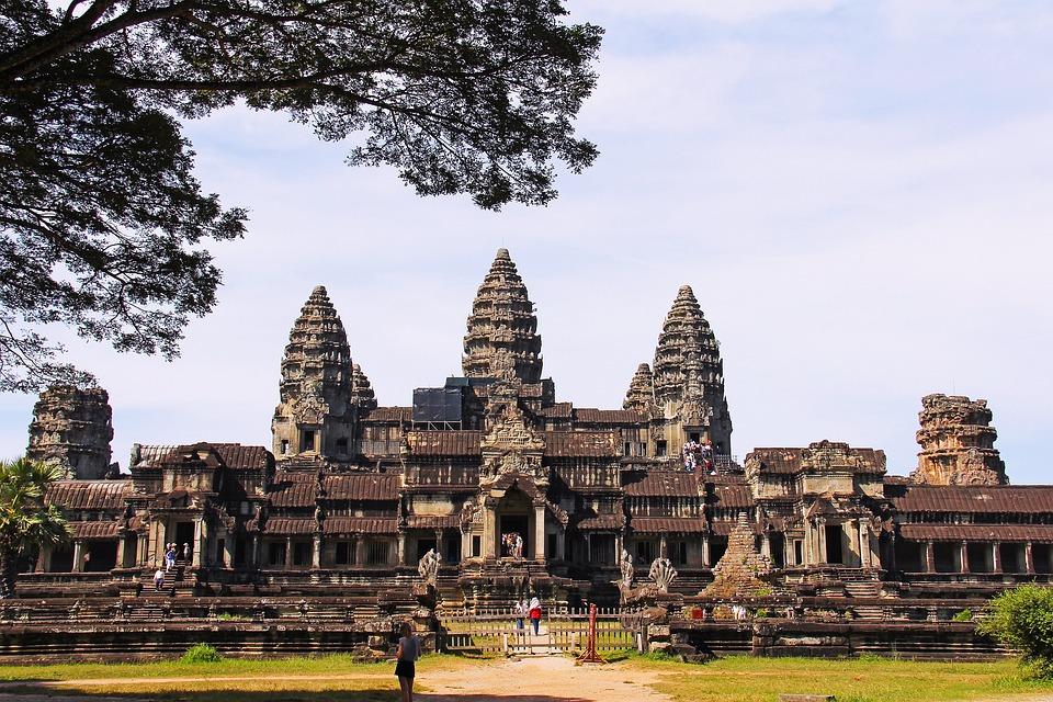 Angkor Wat Temple, Amazing, Seven Wonders, Wonder