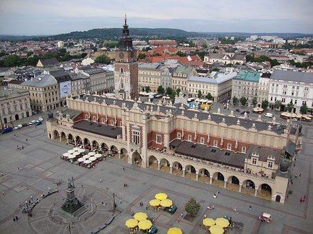 Kraków, Poland, Cloth Hall Sukiennice