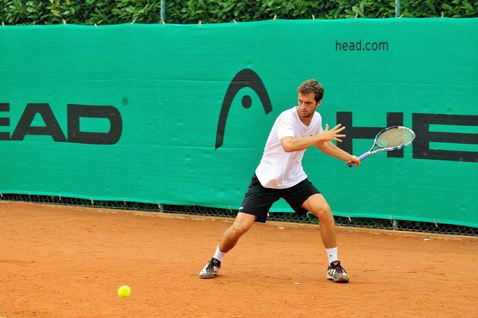 テニス, 頭, Ramos Vinolas, 粘土, テニスコート, バボラ, ボール, プレーヤー