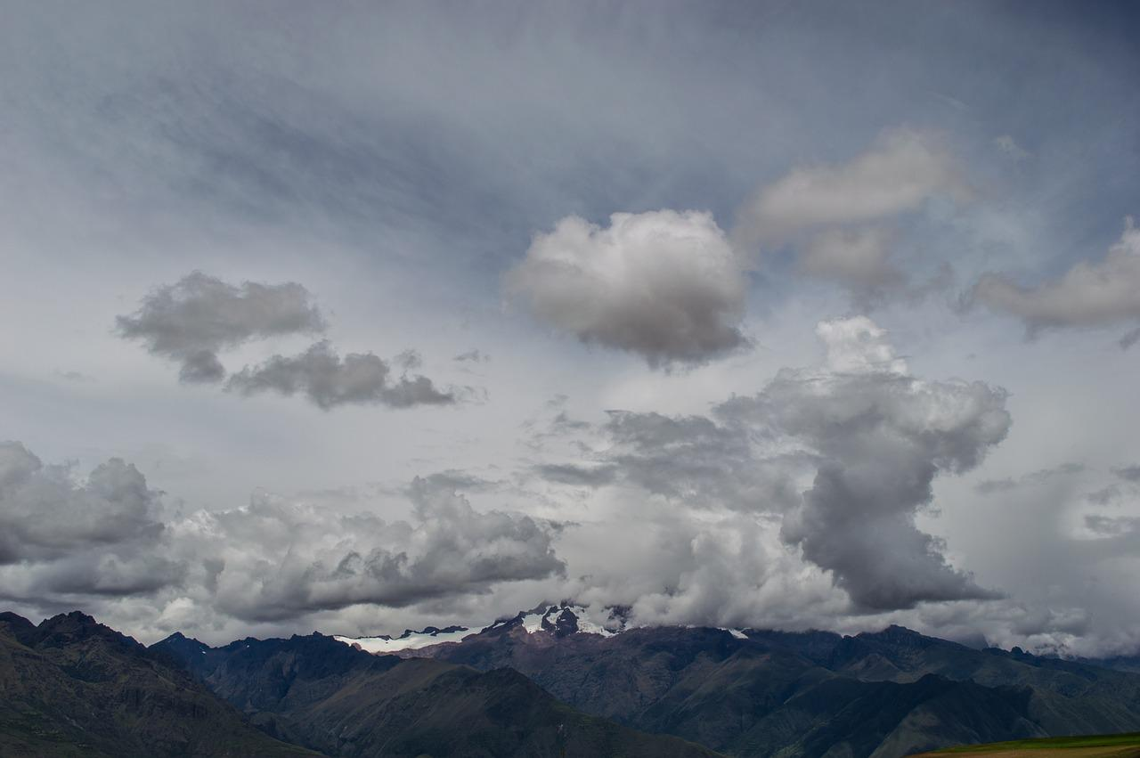 Картинка снеговые облака